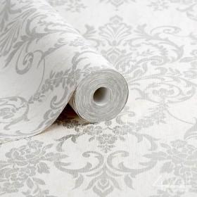 Błyszcząca tapeta laserowa do sypialni w stylu Glamour