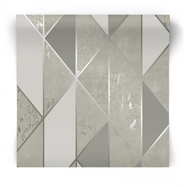 Nowoczesna tapeta geometryczna 104120