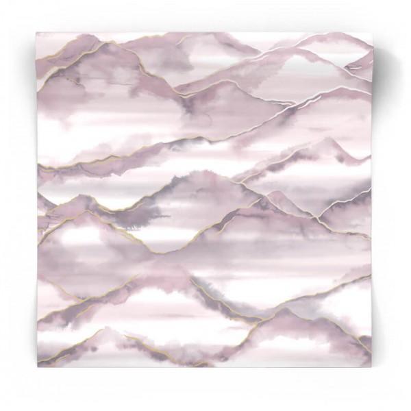 Tapeta w różowe wzory 90421