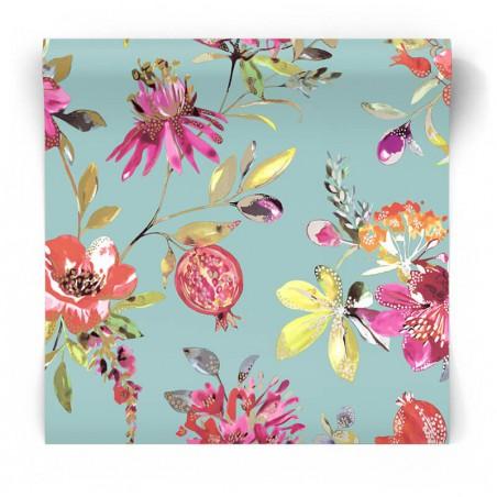 Egzotyczne kwiaty tapeta 90430