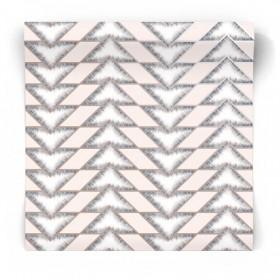 Nowoczesna tapeta w trójkąty 90452