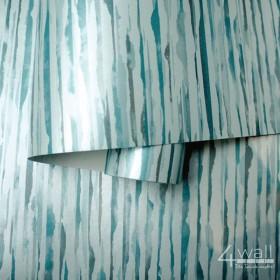 Nowoczesne tapety w kolorze turkusowym do sypialni lub pokoju
