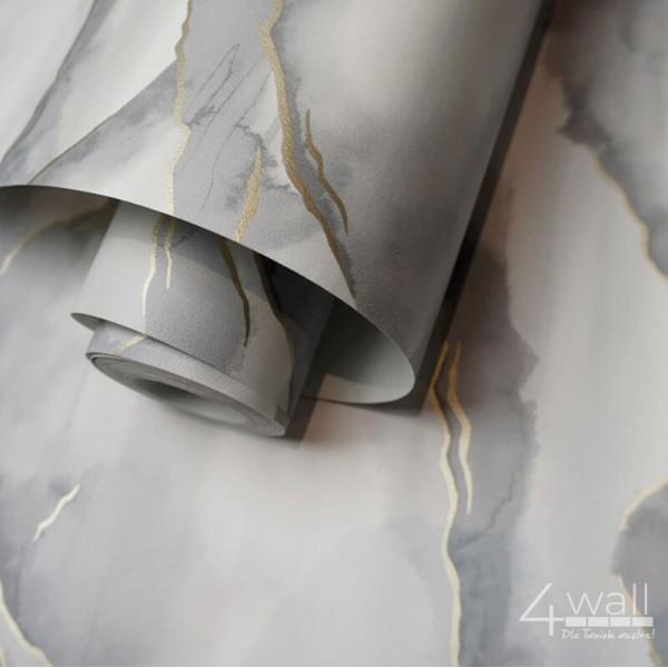 Tapety ścienne w szare wzory