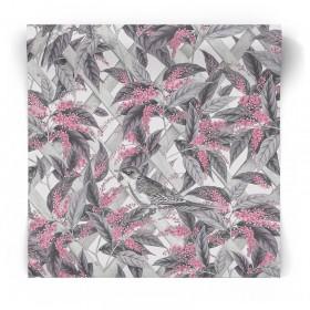 Tapeta na ścianę w kwiaty 90332