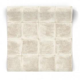 Tapeta kremowe kafle 65571