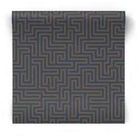 Tapeta geometryczny labirynt 65590