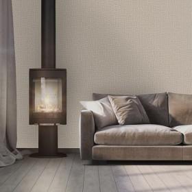 Tapety do sypialni 3D na ścianę w złoty wzór geometryczny