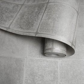 Nowoczesna tapeta w szare kafle