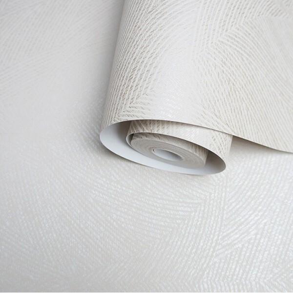 Biała tapeta ze złotymi akcentami zmywalna na flizelinie metalizowana