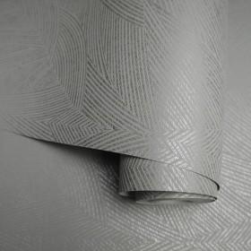 Srebrne tapety ścienne