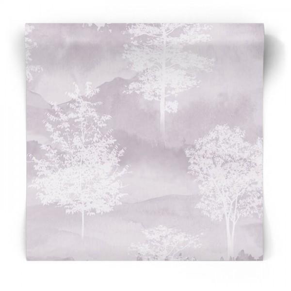 Skandynawska tapeta w drzewa 90822