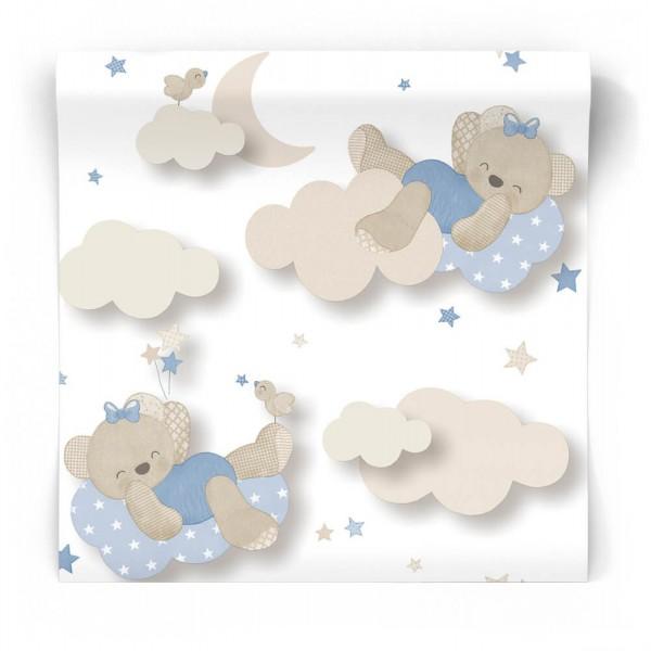 Tapeta w chmurki dla niemowlaka 5403