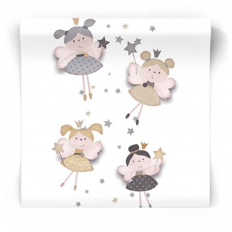 Tapeta dla niemowlaka w księżniczki 5405