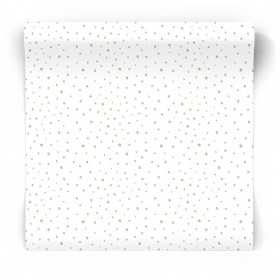 Tapeta w malowane kropki 5451