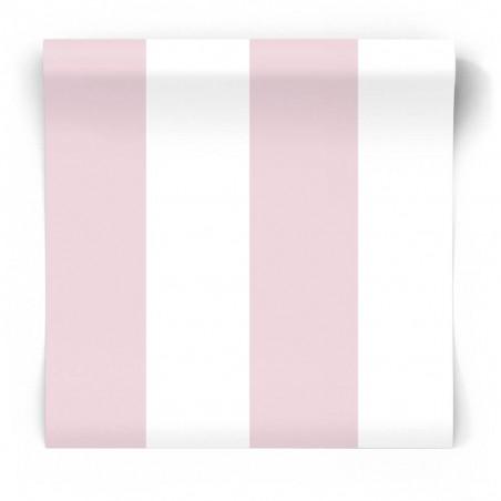 Tapeta w różowe pasy 5472
