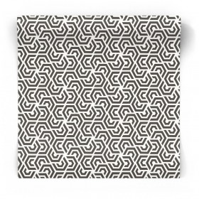 Czarno biała tapeta 3D 3773