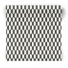Czarno biała tapeta do sypialni 3779