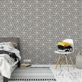 Tapety czarno białe geometryczne