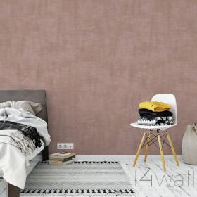 Tapeta w różowy beton imitacja aranżacje do salonu lub sypialni