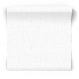 Biała tapeta z teksturą tkaniny 104872