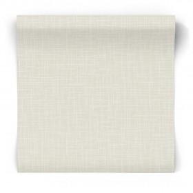 Beżowa tapeta z teksturą tkaniny 104873