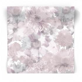 Tapeta w perłowe kwiaty 106372