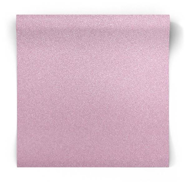 Różowa tapeta brokatowa 106388