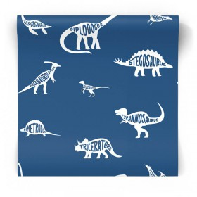 Chłopięca tapeta dinozaury dla dzieci 90901