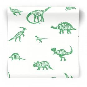 Dziecięca tapeta w dinozaury 90902