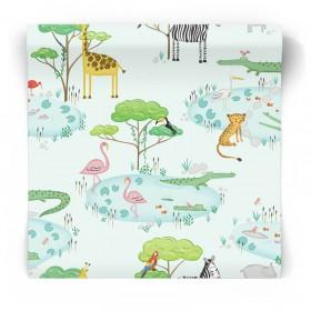 Tapeta dla dzieci Safari 90932