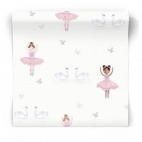 Dziecięca tapeta dla dziewczynki 12461