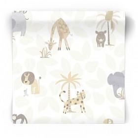 Tapeta dla niemowlaka Safari 12540