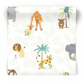 Tapeta Safari do pokoju dziecka 12541