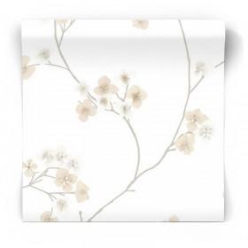 Tapeta w kwiaty sypialniana 33-284