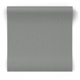 Szara tapeta strukturalna błyszcząca 104759