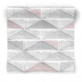 Geometryczna tapeta do kuchni lub łazienki 104884