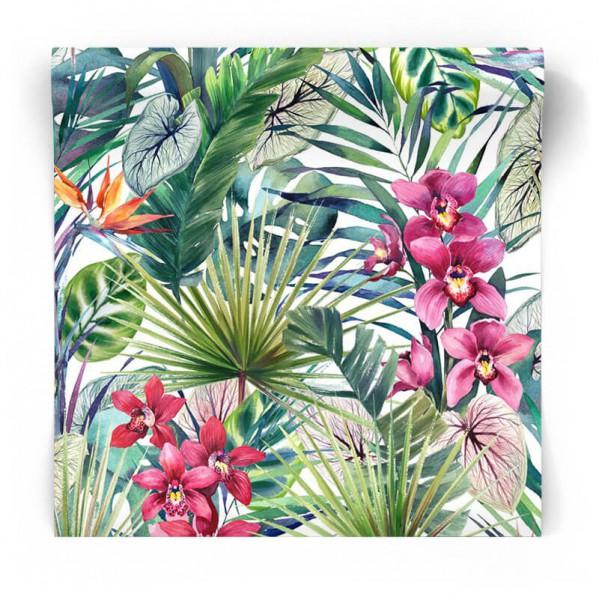 Tropikalna tapeta liście palmy 104885
