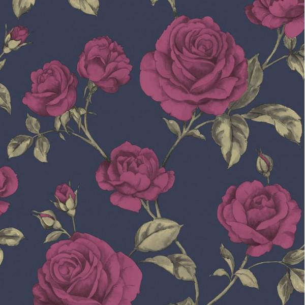 Tapeta do salonu i sypialni 104135 winylowa w stylu Glamour od Graham Brown