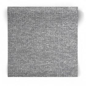 Szara tapeta imitacja tkaniny 106670