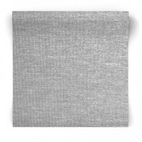 Szara tapeta pleciona gładka 106673