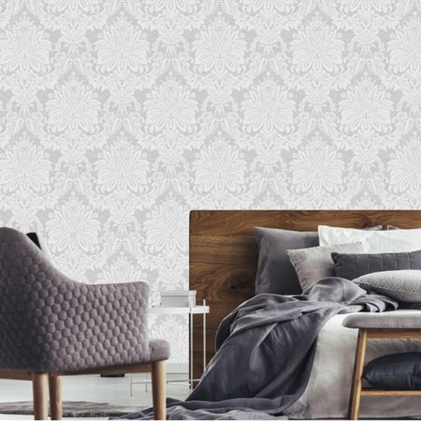 klasyczna stylowa elegancka w ornamenty do sypialni w stylu Glamour