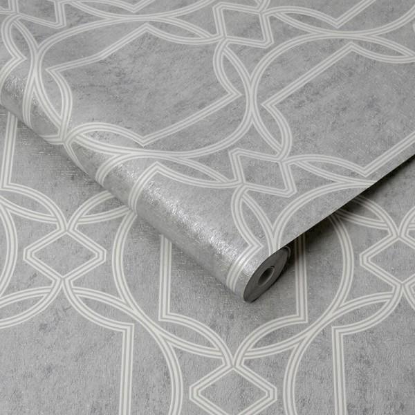 Efektowna tapeta w stylu nowoczesnym do salonu