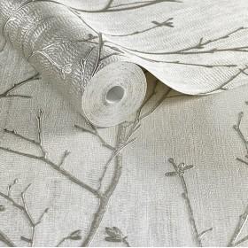 Tapeta w tłoczone wzory do salonu