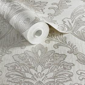 Wytłaczane tapety we wzory pałacowe, eleganckie