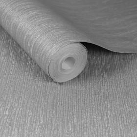 Szara tapeta tłoczona w stylu włoskim błyszcząca imitująca beton