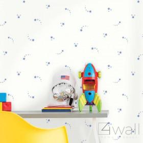 Dziecięca tapeta w drobne gwiazdki