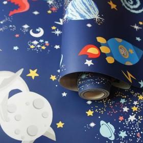 Tapeta świecąca w nocy dziecięca do pokoju