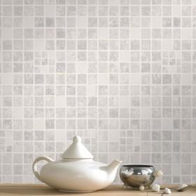 Tapeta na ścianę kafelki łazienkowe