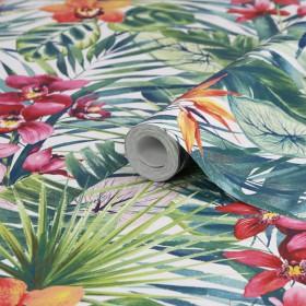 Tropikalna tapeta egzotyczna liście