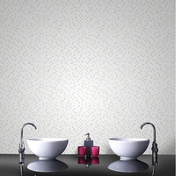 Tapeta kuchenne kafelki na jednej ścianie galeria